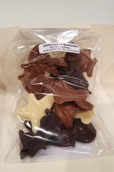 Friture en 3 chocolats
