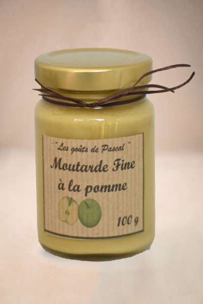 Moutarde Fine à la Pomme 100g