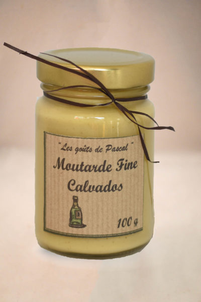 Moutarde Fine au Calvados 100g