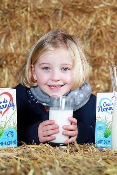 Pack de 6 litres de lait Coeur...