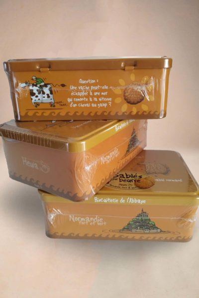 Boîte de sablés normands...