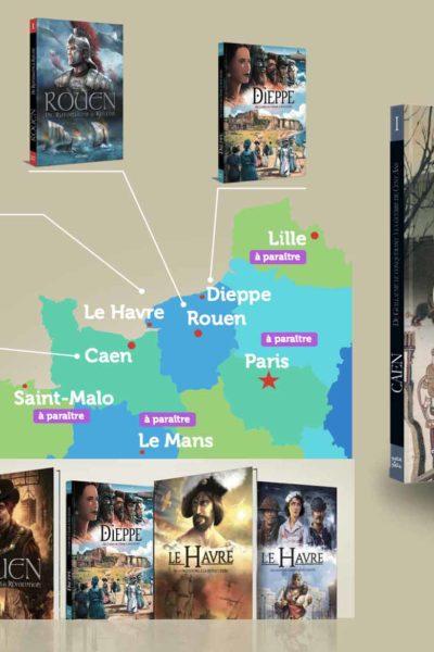 La Normandie en BDs
