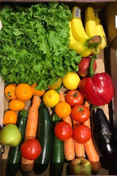Paniers mixtes: Fruits et Légumes