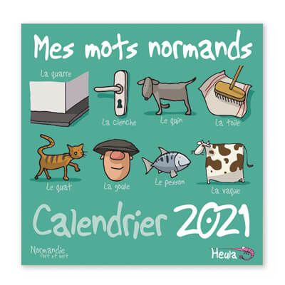 Calendrier 2021- Heula